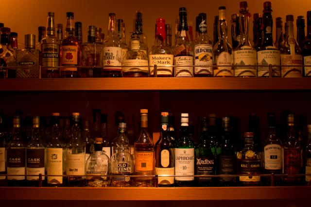 静岡市 Bar OZ. バー オンス - 店内ボトル 2